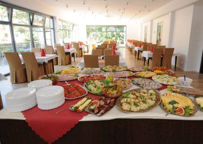 Mahlzeiten in Buffetform